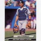 1992 Ultra Baseball #416 Mike Stanley - New York Yankees