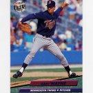 1992 Ultra Baseball #401 Gary Wayne - Minnesota Twins