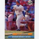 1992 Ultra Baseball #389 Kevin Seitzer - Milwaukee Brewers