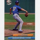 1992 Ultra Baseball #388 Dan Plesac - Milwaukee Brewers