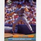 1992 Ultra Baseball #379 Chris Bosio - Milwaukee Brewers