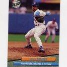 1992 Ultra Baseball #378 Ricky Bones - Milwaukee Brewers