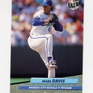 1992 Ultra Baseball #369 Mark Davis - Kansas City Royals