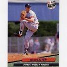 1992 Ultra Baseball #366 Mark Leiter - Detroit Tigers