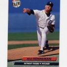 1992 Ultra Baseball #364 Mike Henneman - Detroit Tigers