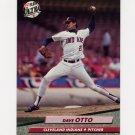1992 Ultra Baseball #354 Dave Otto - Cleveland Indians