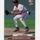 1992 Ultra Baseball #308 David Segui - Baltimore Orioles