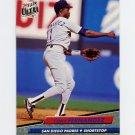 1992 Ultra Baseball #276 Tony Fernandez - San Diego Padres