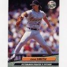 1992 Ultra Baseball #260 Zane Smith - Pittsburgh Pirates