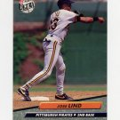 1992 Ultra Baseball #255 Jose Lind - Pittsburgh Pirates