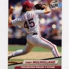 1992 Ultra Baseball #248 Terry Mulholland - Philadelphia Phillies