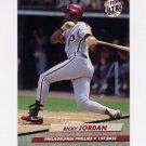 1992 Ultra Baseball #245 Ricky Jordan - Philadelphia Phillies