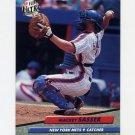 1992 Ultra Baseball #237 Mackey Sasser - New York Mets