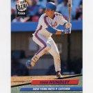 1992 Ultra Baseball #233 Todd Hundley - New York Mets