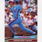 1992 Ultra Baseball #226 Tim Wallach - Montreal Expos