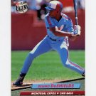 1992 Ultra Baseball #220 Delino DeShields - Montreal Expos