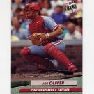 1992 Ultra Baseball #193 Joe Oliver - Cincinnati Reds