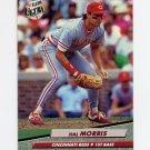 1992 Ultra Baseball #192 Hal Morris - Cincinnati Reds