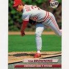 1992 Ultra Baseball #186 Tom Browning - Cincinnati Reds