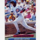 1992 Ultra Baseball #184 Jerome Walton - Chicago Cubs