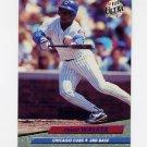 1992 Ultra Baseball #183 Chico Walker - Chicago Cubs