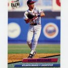 1992 Ultra Baseball #158 Rafael Belliard - Atlanta Braves