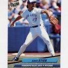 1992 Ultra Baseball #152 Dave Stieb - Toronto Blue Jays