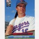 1992 Ultra Baseball #137 Dean Palmer - Texas Rangers