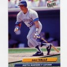 1992 Ultra Baseball #130 Dave Valle - Seattle Mariners