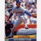 1992 Ultra Baseball #122 Rich DeLucia - Seattle Mariners
