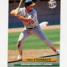 1992 Ultra Baseball #116 Terry Steinbach - Oakland A's