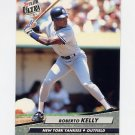 1992 Ultra Baseball #103 Roberto Kelly - New York Yankees