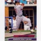 1992 Ultra Baseball #094 Scott Leius - Minnesota Twins