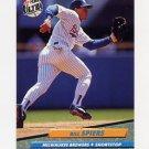 1992 Ultra Baseball #084 Bill Spiers - Milwaukee Brewers