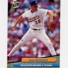 1992 Ultra Baseball #078 Don August - Milwaukee Brewers