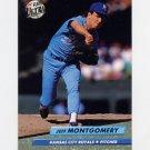 1992 Ultra Baseball #076 Jeff Montgomery - Kansas City Royals