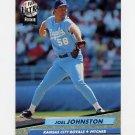 1992 Ultra Baseball #072 Joel Johnson - Kansas City Royals