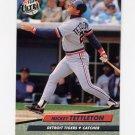 1992 Ultra Baseball #063 Mickey Tettleton - Detroit Tigers
