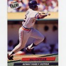 1992 Ultra Baseball #057 Milt Cuyler - Detroit Tigers
