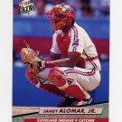 1992 Ultra Baseball #045 Sandy Alomar Jr. - Cleveland Indians