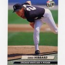 1992 Ultra Baseball #036 Greg Hibbard - Chicago White Sox