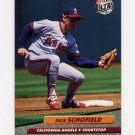 1992 Ultra Baseball #030 Dick Schofield - California Angels