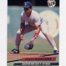1992 Ultra Baseball #019 Carlos Quintana - Boston Red Sox