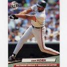 1992 Ultra Baseball #006 Sam Horn - Baltimore Orioles