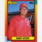 1990 Topps Traded Baseball #078T Randy Myers - Cincinnati Reds