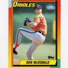 1990 Topps Traded Baseball #070T Ben McDonald - Baltimore Orioles