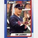 1990 Topps Baseball #777 Tim Laudner - Minnesota Twins