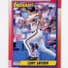 1990 Topps Baseball #770 Cory Snyder - Cleveland Indians