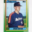 1990 Topps Baseball #766 Brian Meyer - Houston Astros