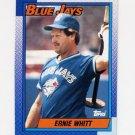 1990 Topps Baseball #742 Ernie Whitt - Toronto Blue Jays